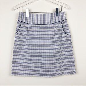 Anthropologie Edme & Esyllte Plaid Mini Skirt
